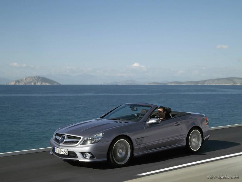 2009 mercedes benz sl class convertible specifications for Mercedes benz sl class price