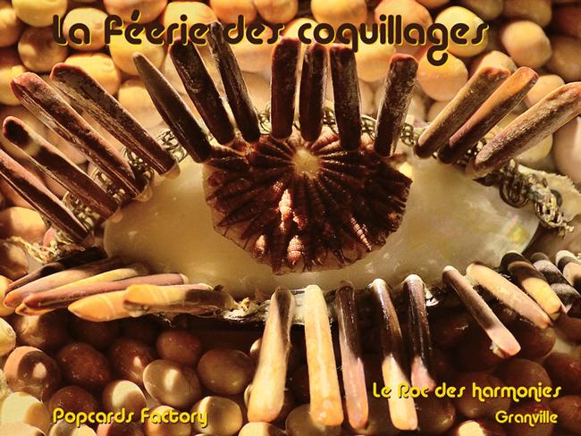 Popcards Factory présente La féerie des coquillages - Le Roc des harmonies / Granville - Pour vous Madame, pour vous Monsieur, des publicités, illustrations et rédactionnels choisis avec amour dans des publications des années 50, 60 et 70. Popcards Factory vous offre des divertissements de qualité. Vous pouvez également nous retrouver sur www.popcards.fr et www.filmfix.fr