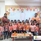 Orange Day celebration by Jr KG Section (2018-19) at Witty World, Bangur Nagar