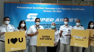 Super Air Jet Siap Terbang Perdana