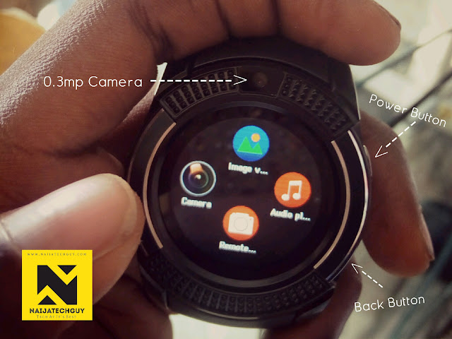 V8 Smartwatch Review - This Watch Does Almost Everything Your SmartPhone Can Do 3