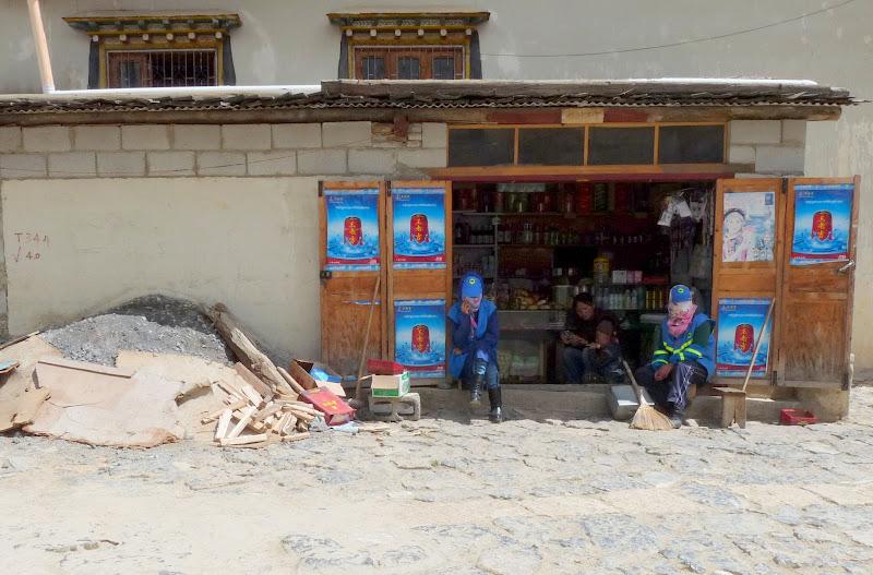 Chine. Yunnan.Shangri la Course hippique annuelle - P1250810.JPG