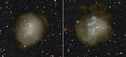 simulação de galáxias ultradifusas