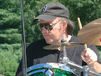 Dale Monette, solid as a rock, drums