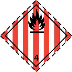 Класс 4.1 Легковоспламеняющиеся твердые вещества