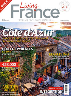 French Village Diaries Living France Magazine December 2014 My French Garden feature