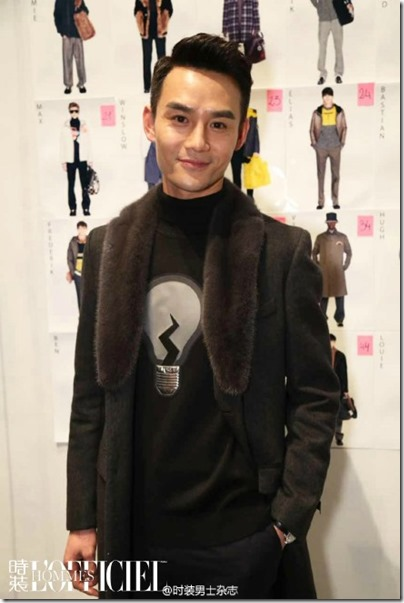 2016.01.18 Wang Kai X Milan Fashion Week AF16 X FENDI 王凱 2016秋冬男裝週 19
