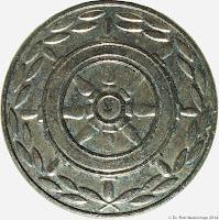 197d Medaille für treue Dienste in der Seeverkehrswirtschaft und der Binnenschiffahrt in Silber www.ddrmedailles.nl