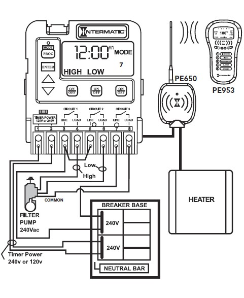 Intex spa wiring diagram schematic