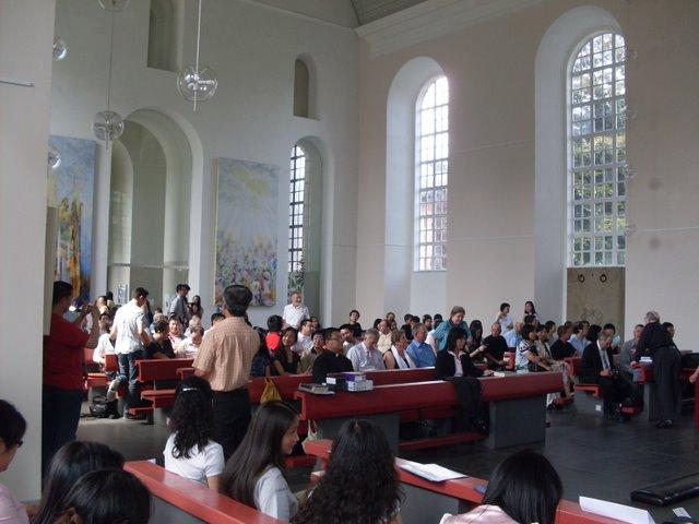 2009年8月9日汉堡华人基督教会成立感恩崇拜