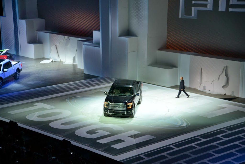 2015 Ford F-150 Unveiling NAIAS 6