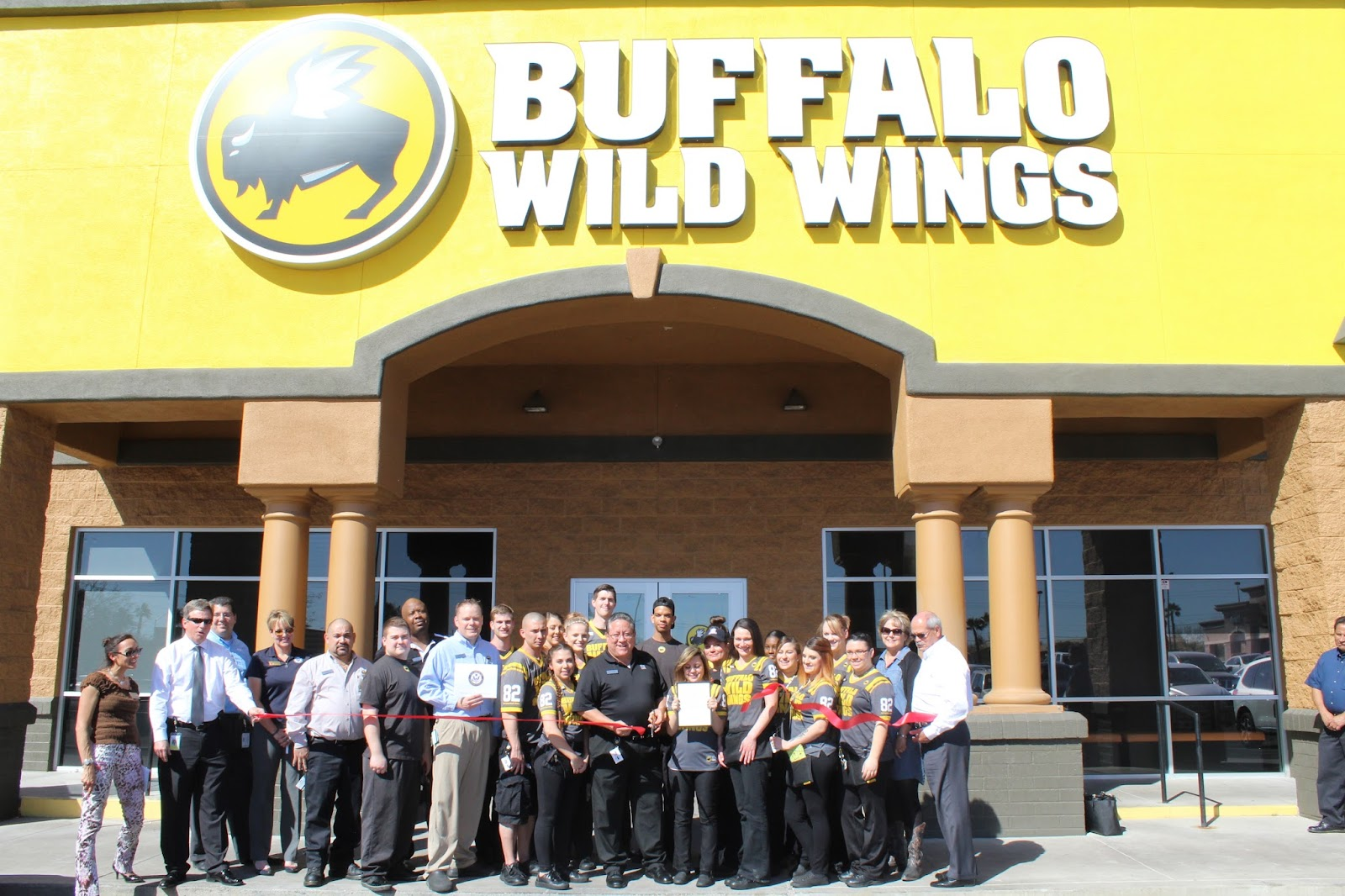 Congratulations to Buffalo Wild Wings, located at 68 N. Harrison Road, on their Grand Re-Opening. Buffalo Wild Wings of East Tucson has a brand new look! Stop by to see this awesome, newly renovated restaurant. New look, same great wings, beer, sports and service!