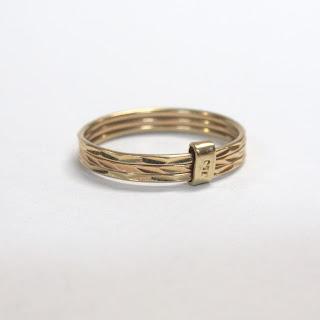 18K Gold Triple-Band Ring