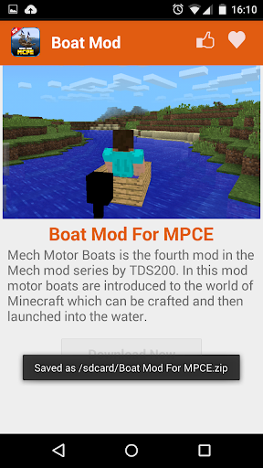 無料娱乐AppのBoat MOD For MCPE!|記事Game
