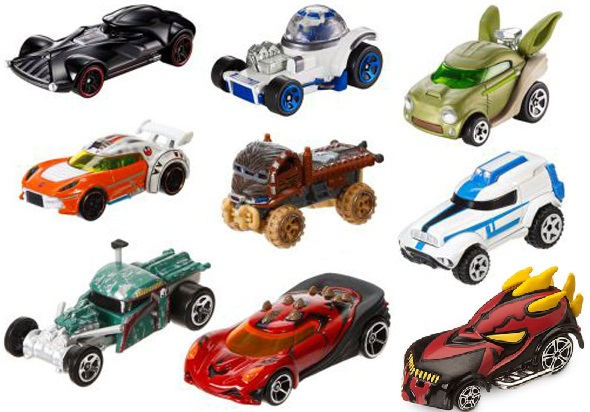 Đồ chơi Mô hình xe ô tô Hot Wheels Star Wars CGW35