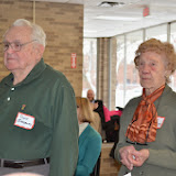 Dave and Betty Bradbury at the GWBHS 2014 Annual Meeting