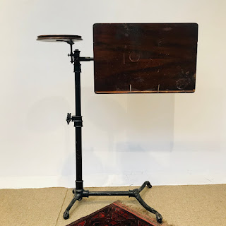 Foot's of London Late 19th C. Reading Table