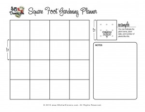 And Walk In It Free Gardening Planner Printables