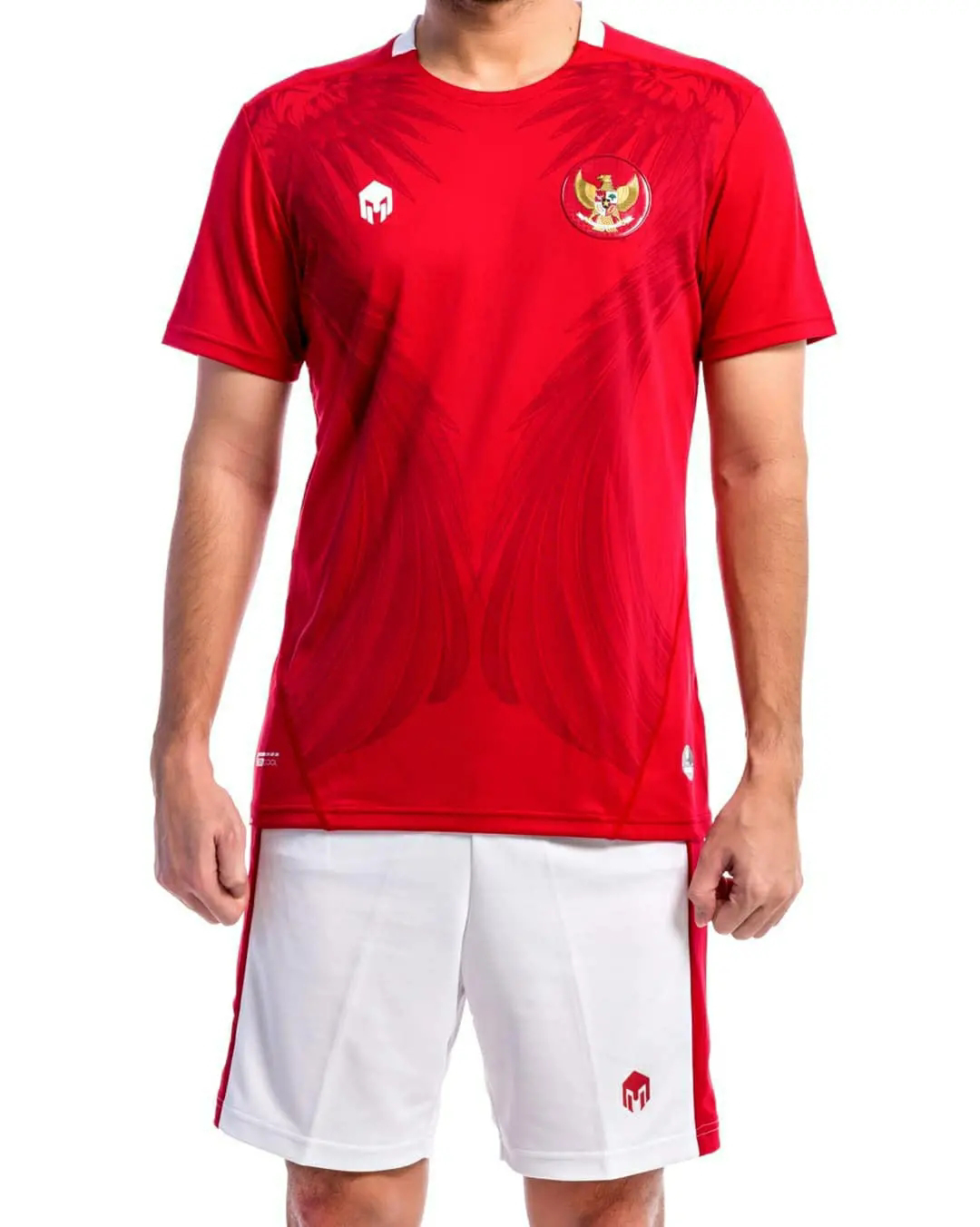 gambar kit Jersey timnas Indonesia 2020 x mills