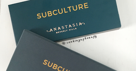 Anastasia Beverly Hills Subculture Palette Review