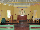 Inside Mt. Zion Lutheran Church, Sand Hills