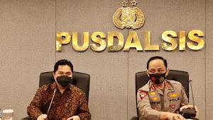 Menteri BUMN Tunjuk Wakapolri Sebagai Wakil Ketua II PCPEN