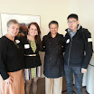 Global Business Lunch, March 2013, Synnea Johnson, Sylvia Safin, Merle Bowen, In Woo Jung