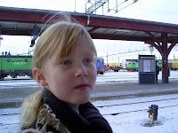 ja, när kommer tåget??