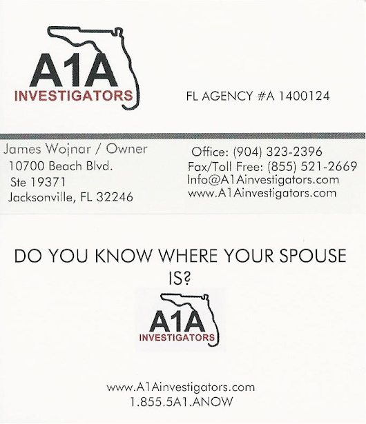 Jacksonville florida private investigator firm business cards jacksonville florida private investigator firm business cards doyouknowwhereyourspouseis 007 reheart Choice Image