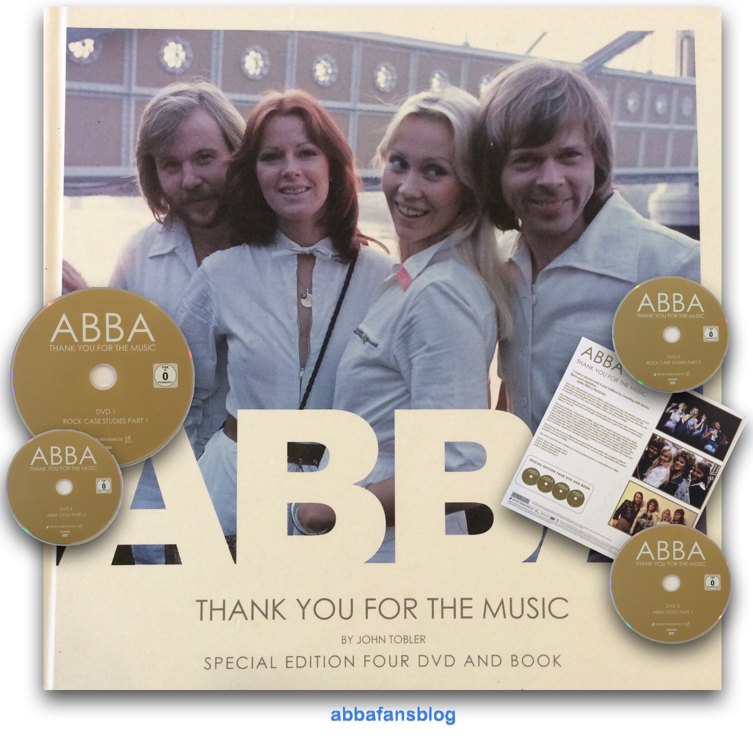 Abba Thank You For The Music + Waterloo German Version
