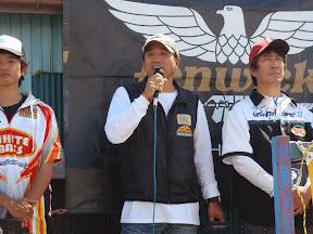 第1戦優勝、第2戦準優勝、そして今回も準優勝と年間レースは断トツ1位の菊地裕一選手。