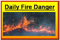 Daily Fire Danger Icon