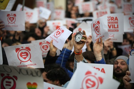 Manifestazione per i diritti civili #svegliatiitalia