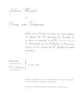 Monde, Johan en Tongeren,Corry van Huwelijk 10-06-1957.jpg