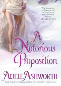 A Notorious Proposition By Adele Ashworth