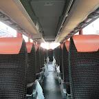 Het interieur van de setra van Besseling bus 43