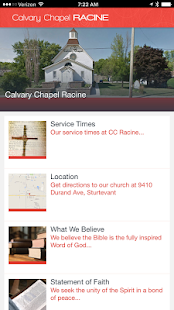 Calvary Chapel Racine- screenshot thumbnail