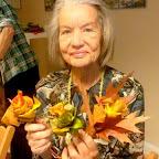 19-10-2015 Rękodzieło: Jesienne bukiety z liści