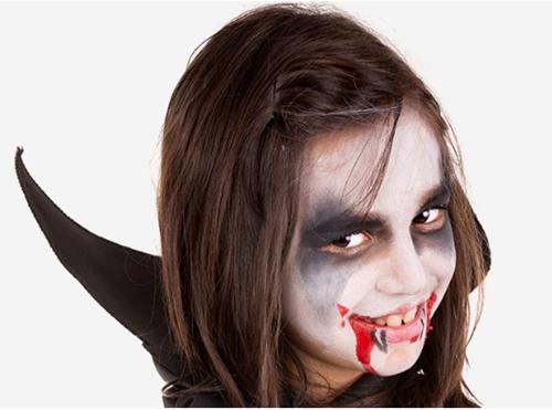 como hacer un maquillaje de drácula para halloween