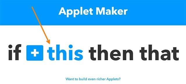 creare-applet