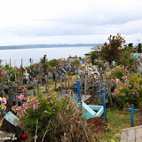 Cemitério na Ilha de Lemuy - Chiloe, Chile