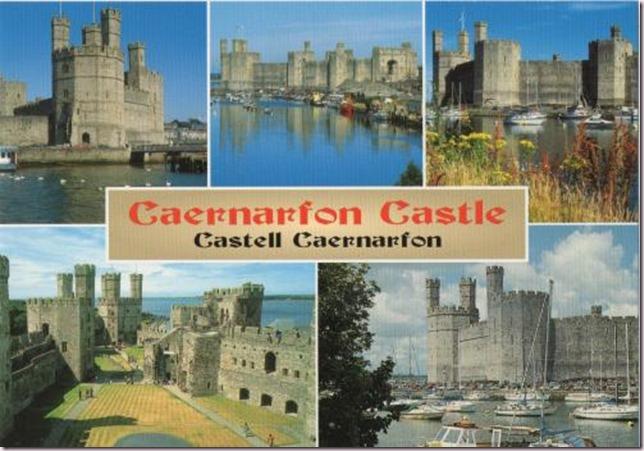 GB-612364_2014 Caernarfon Castle Wales