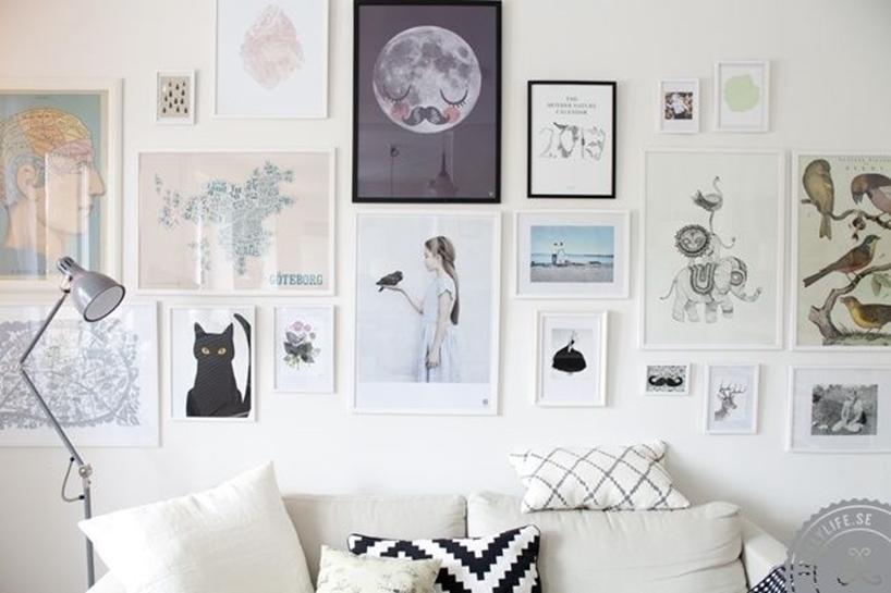 tips geniales ideas para decorar nuestras paredes con cuadros