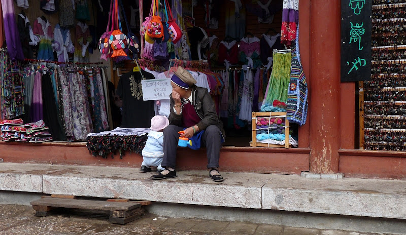 Chine. Yunnan.LIJIANG , Dragon snow mountain,puis lac LUGU - P1230575.JPG