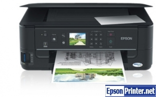 How to reset flashing lights for Epson ME-900WD printer