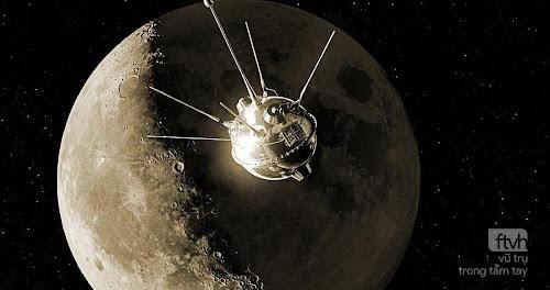 Ngày này năm xưa: Phóng tàu vũ trụ đầu tiên đến Mặt Trăng