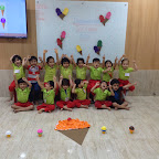 Celebration of International Ice-cream Day by Nursery ( 2016-17 ) at Witty World, Bangur Nagar