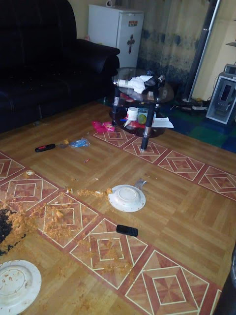 """confused"" Nigerian man is soliciting advice from the public after his girlfriend and his good friend clashed over food in his apartment"