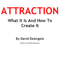 Cover of David Deangelo's Book Attraction And How To Create It