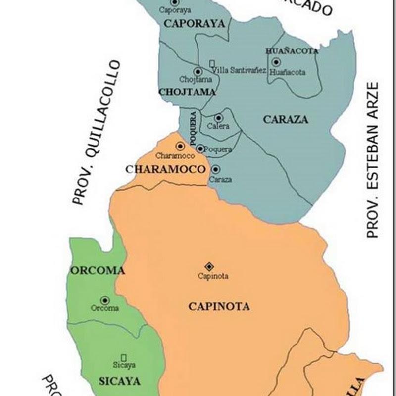 Provincia Capinota: departamento de Cochabamba (Bolivia)